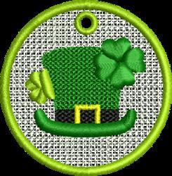 FSL Leprechaun Hat embroidery design
