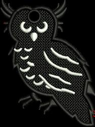 FSL Halloween Owl embroidery design
