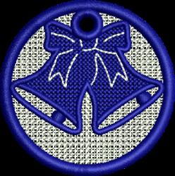 FSL Bells Ornament embroidery design