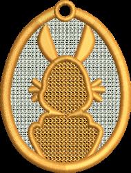 FSL Bunny embroidery design