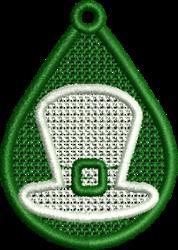 FSL Hat embroidery design