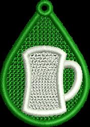 FSL Beer embroidery design