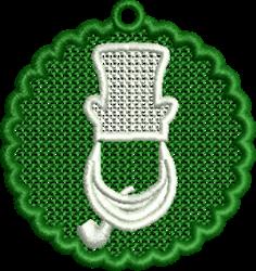 FSL Leprechaun embroidery design