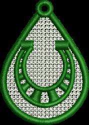 FSL Horseshoe embroidery design