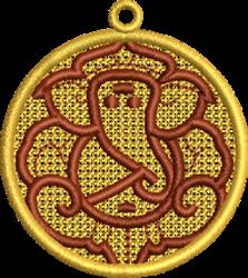 FSL Ganesh embroidery design
