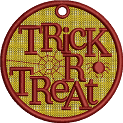 FSL Trick Or Treat embroidery design