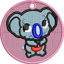 FSL Koala Bear embroidery design