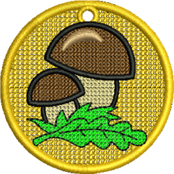 FSL Mushrooms embroidery design