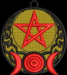 FSL Pagan Symbols embroidery design