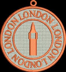 FSL London embroidery design
