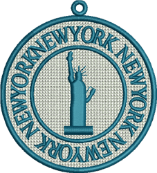 FSL New York embroidery design