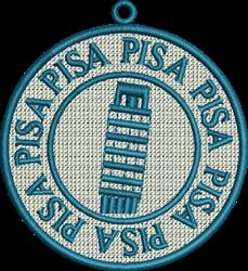 FSL Pisa embroidery design