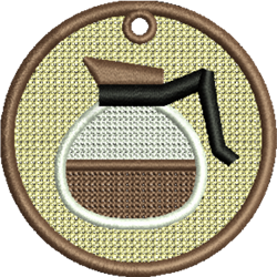 FSL Coffee Pot embroidery design