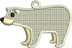 FSL Polar Bear embroidery design