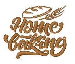 Home Baking embroidery design