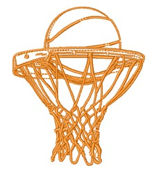Ball & Net embroidery design
