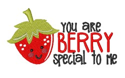 Berry Special embroidery design