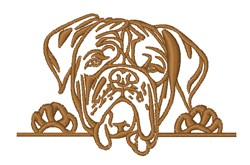 Dog Head embroidery design