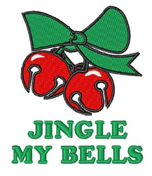Jingle My Bells embroidery design