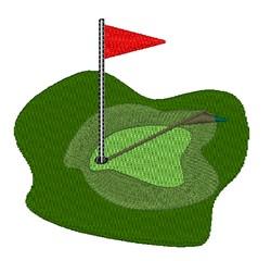 Golf Course embroidery design