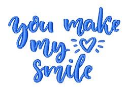 Make Me Smile embroidery design