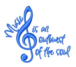 An Outburst Of The Soul embroidery design