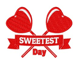Sweetest Day embroidery design