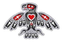 Southwestern Bird embroidery design