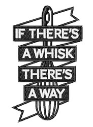 If Theres A Whisk... embroidery design