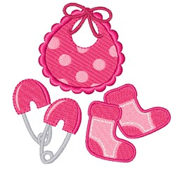 Baby Girl Clothes embroidery design
