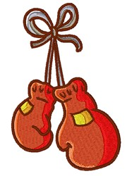Boxing Gloves embroidery design