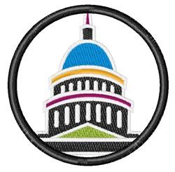 Capitol Dome embroidery design
