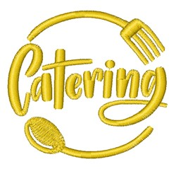 Catering embroidery design