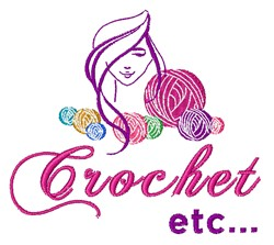 Crochet Etc embroidery design