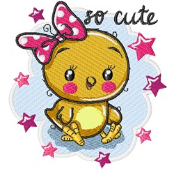 So Cute embroidery design
