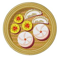 Desserts embroidery design