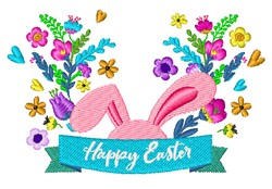 Bunny Ears embroidery design