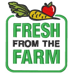 Farm Fresh embroidery design