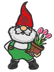 Tulip Gnome embroidery design