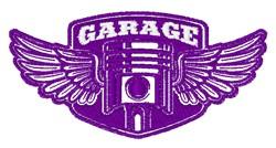 Garage Logo embroidery design