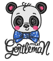 Little Gentleman embroidery design