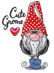 Cute Gnome embroidery design