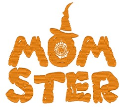 Momster embroidery design
