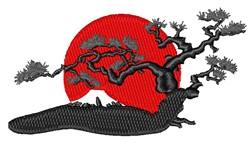 Japanese Scene embroidery design