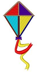 Colorful Kite embroidery design