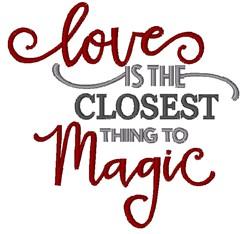 Love Magic embroidery design