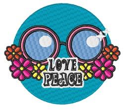 Love Peace embroidery design
