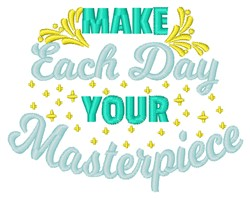 Your Masterpiece embroidery design