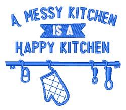 Happy Kitchen embroidery design