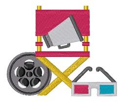 Movie Equipment embroidery design